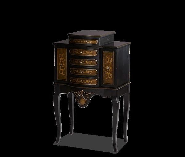 AMINI Jewelry Storage Chest Dark Brown  sc 1 st  Mega Furniture & AMINI Jewelry Storage Chest Dark Brown | ACFSTCHNTG111 | Jewelry ...