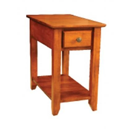 ARCHBOLD FURNITURE Alder Chairside Table, 14x24x28