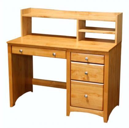 ARCHBOLD FURNITURE Alder Student Desk Hutch, 44.75x9.25x12.13