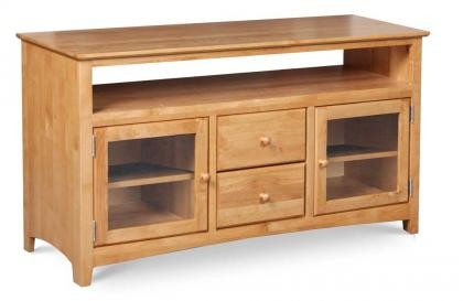 ARCHBOLD FURNITURE 54 Inch Alder TV Console, 54x18x30