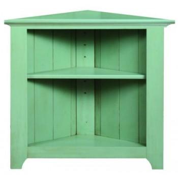 ARCHBOLD FURNITURE Pine Corner Cabinet, 32x16.5x30