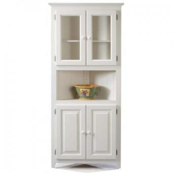 ARCHBOLD FURNITURE Corner Cabinet, 32.25x16.5x72