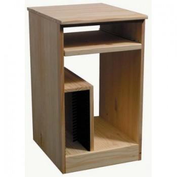 ARCHBOLD FURNITURE Pine Universal Pedestal, 17.5x21.75x30