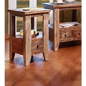 Request A Quote. Antique Multi Color Collection Chair Side Table