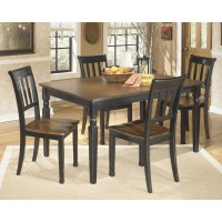 Owingsville Rectangular Dining Room Table & 4 Side Chairs