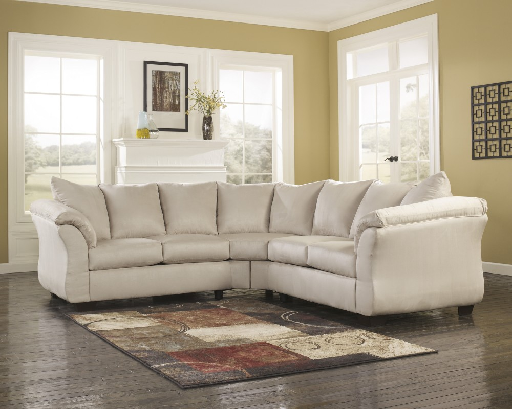 Darcy - Stone 2 Pc. Sectional