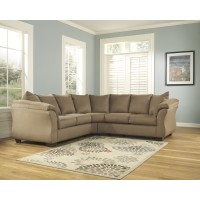 Darcy - Mocha 2 Pc. Sectional