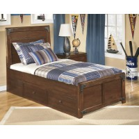 Delburne Twin Bed with Storage