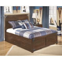 Delburne Full Bed with Storage