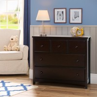 3 Drawer Dresser - Dark Chocolate