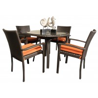 Cabana - Dining Set Orange