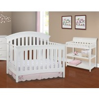 Bentley Series 4-in-1 Crib - White