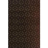Radiance Geometric Area Rug Chocolate - 5X7