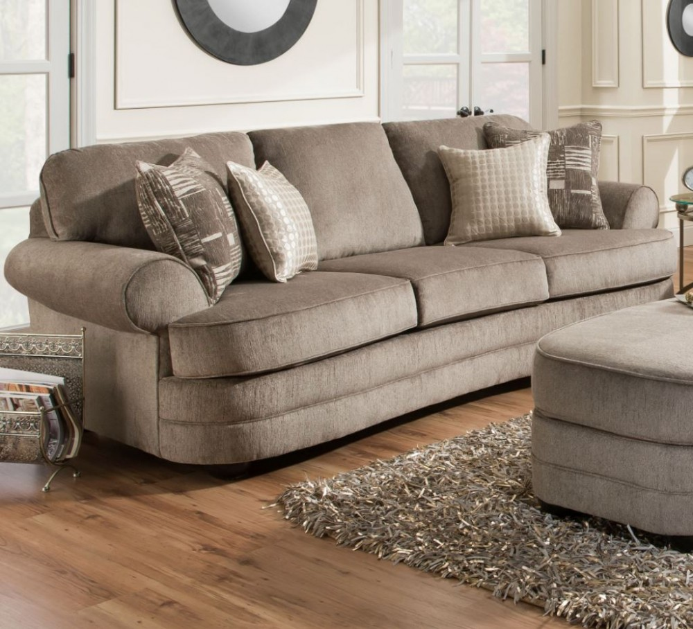 Kingsley Pewter Sofa
