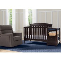 Abby Dark Chocolate Crib N Changer