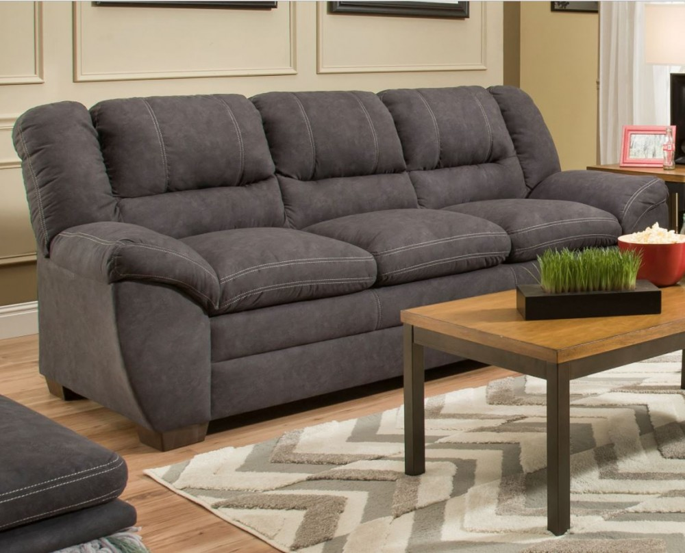 Main Event Charcoal Sofa