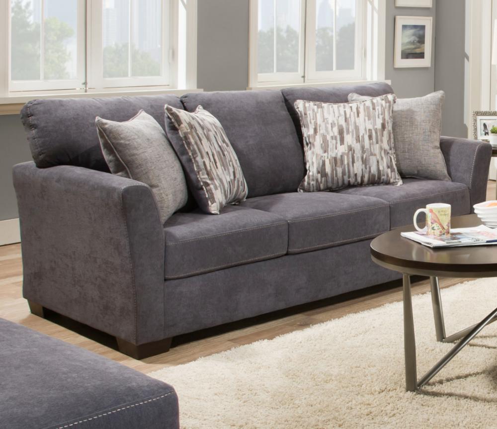 Mellow Collection Blue Sofa
