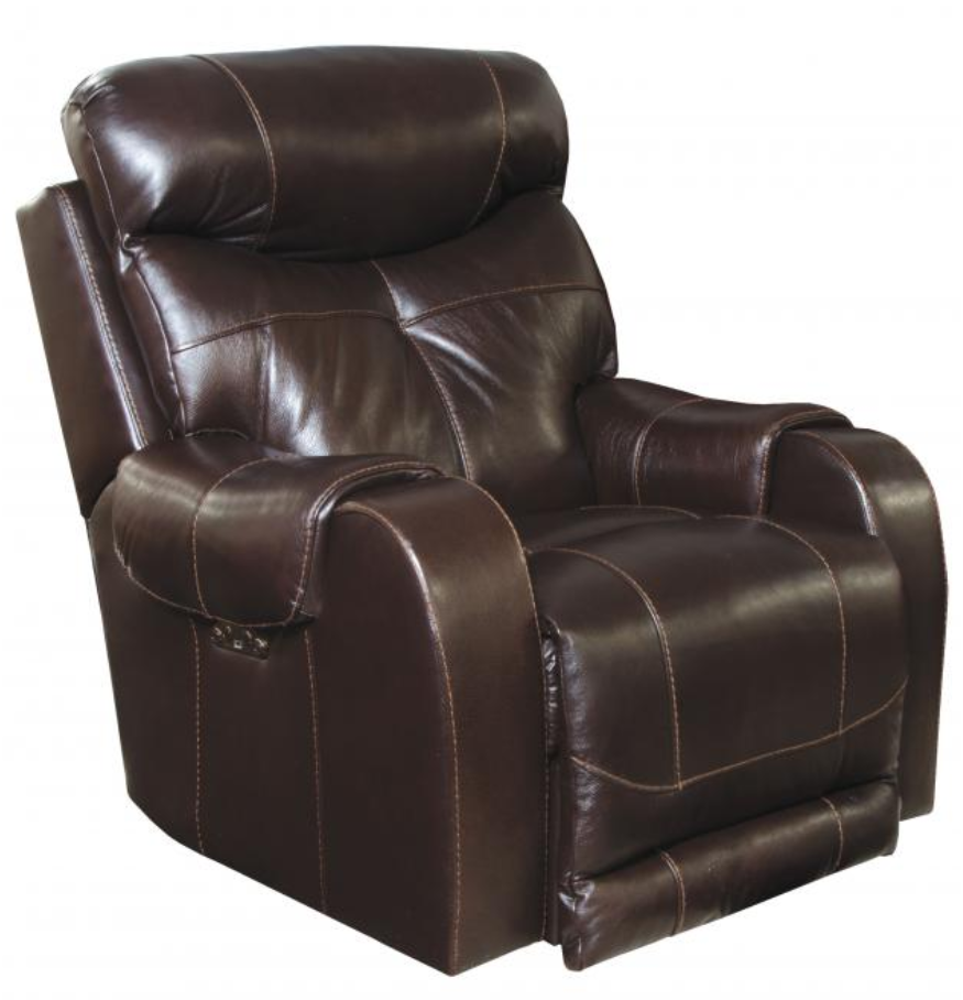 Venice Chocolate Power Head/Foot Recliner