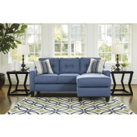 Aldie Nuvella - Blue Sofa Chaise
