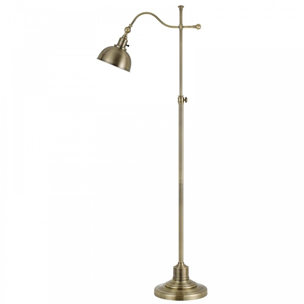 Portico I Floor Lamp - Antique Brass
