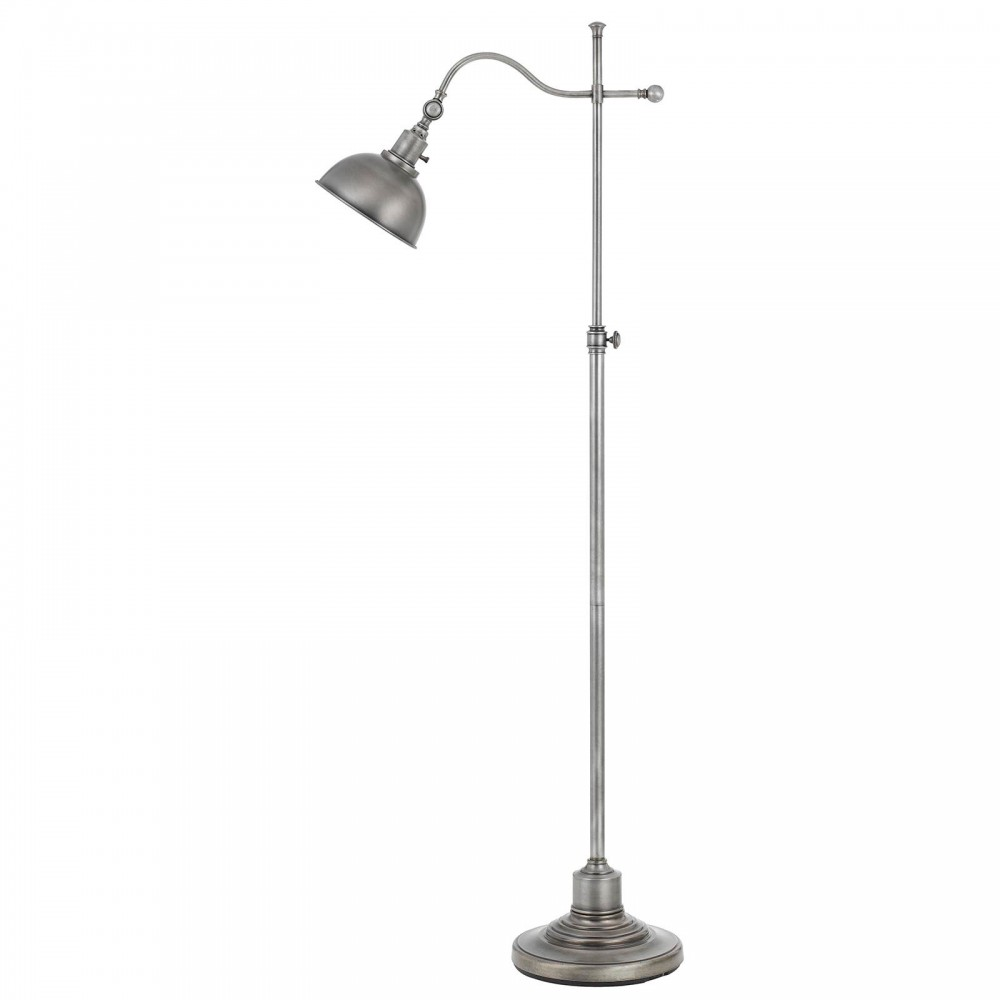 Portico II Floor Lamp - Antique Pewter Finish