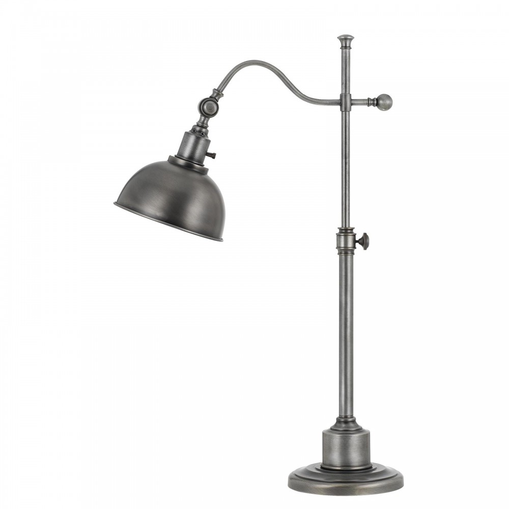 Portico II Table Lamp - Antique Pewter Finish
