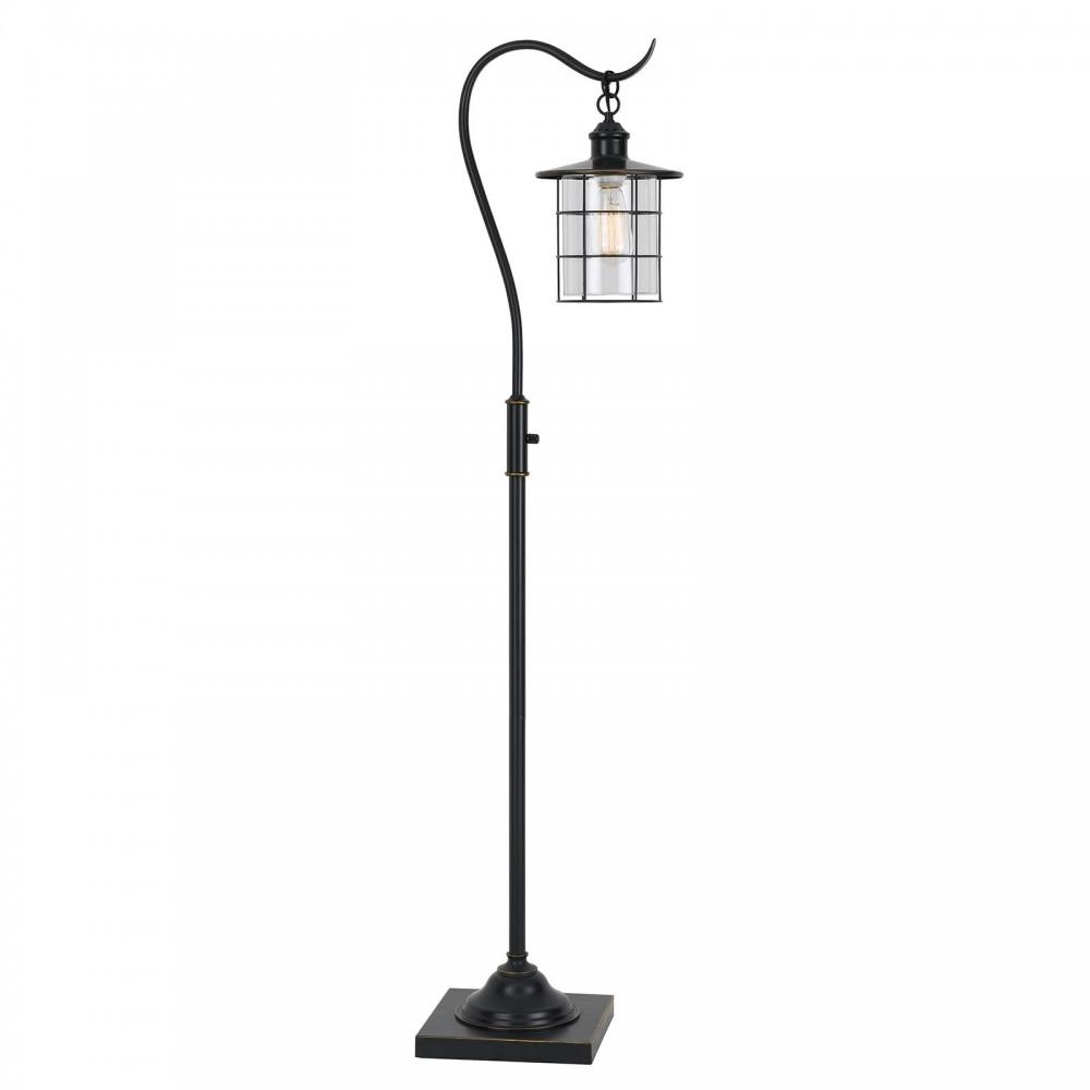 60w Silverton Dark Bronze Floor Lamp