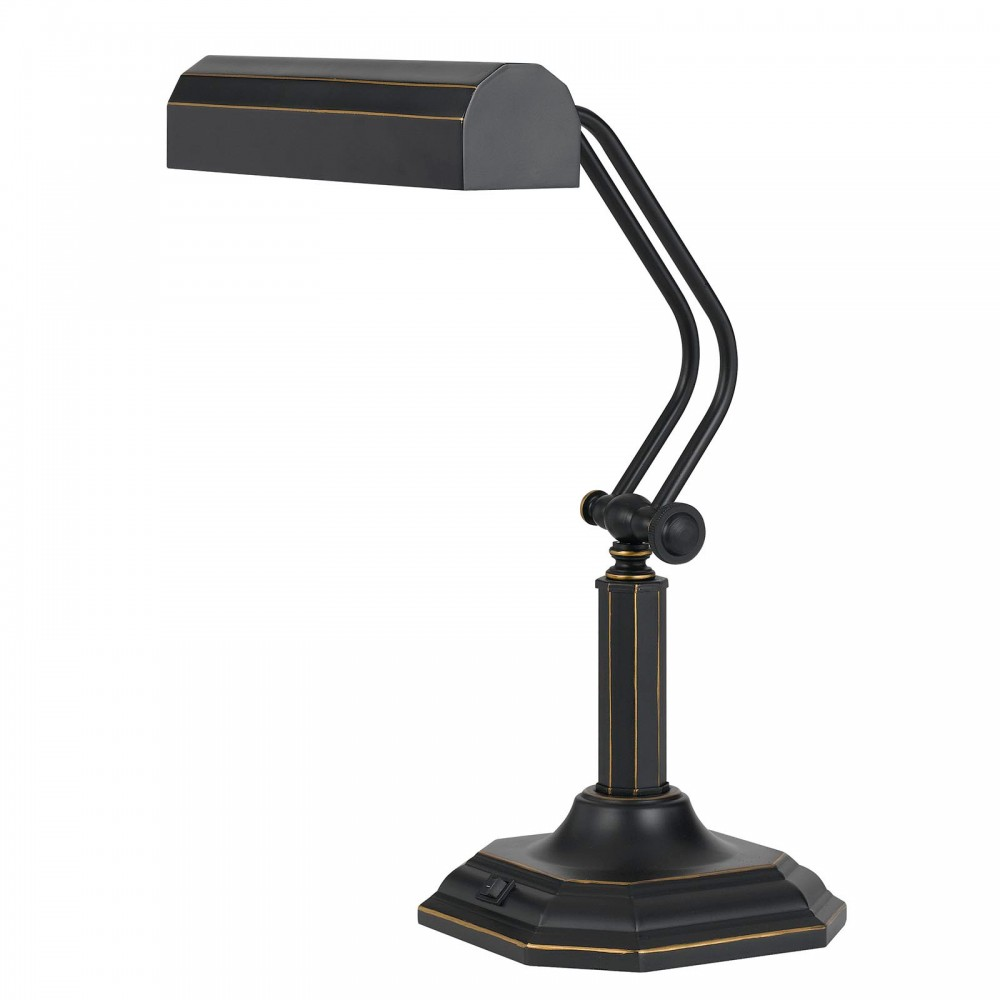 Piano Desk Lamp - Dark Bronze