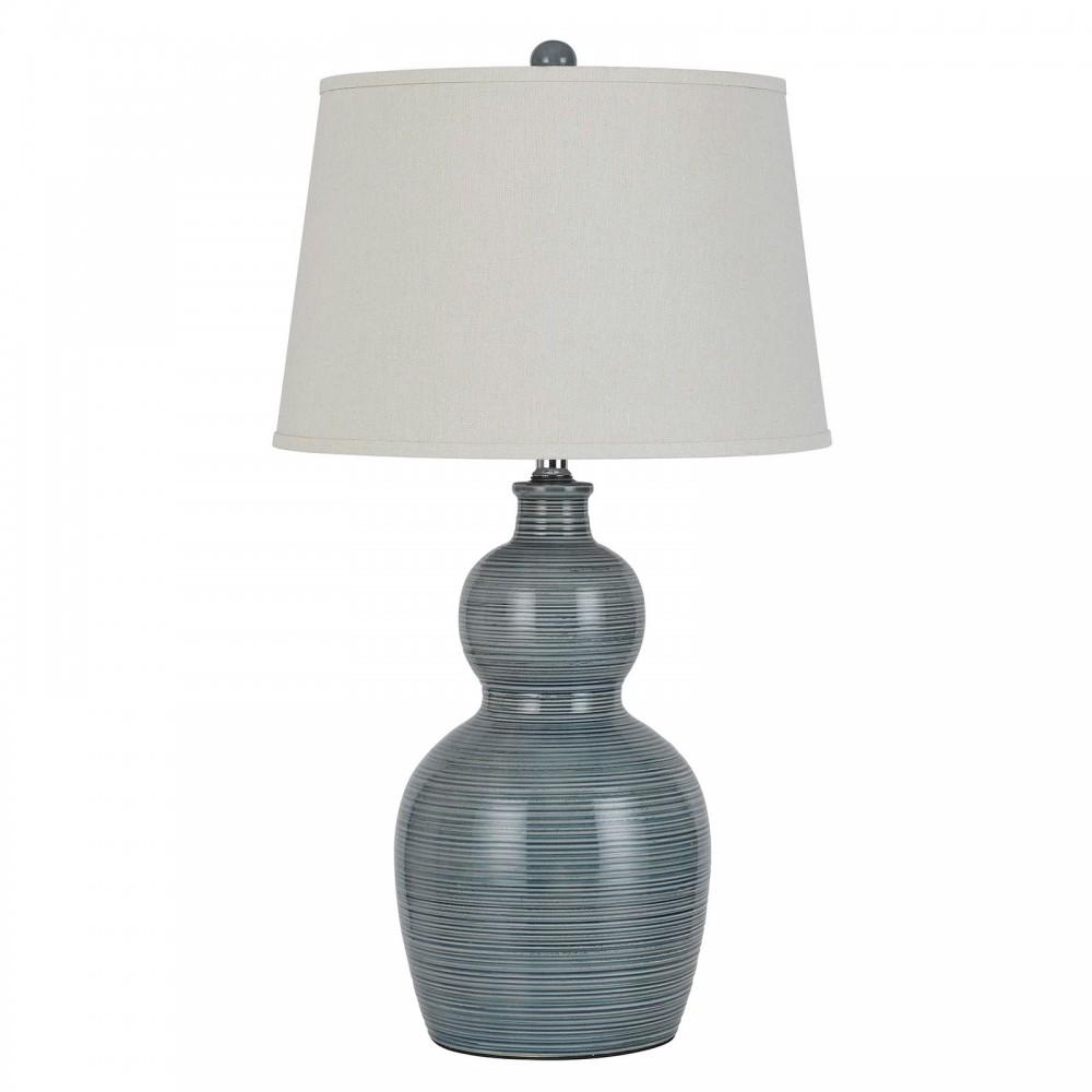 Ceramic Stone Table Lamp - Stone