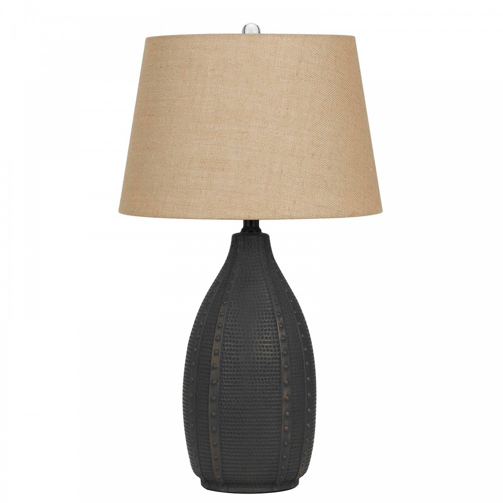 Bosque Charcoal Table Lamp