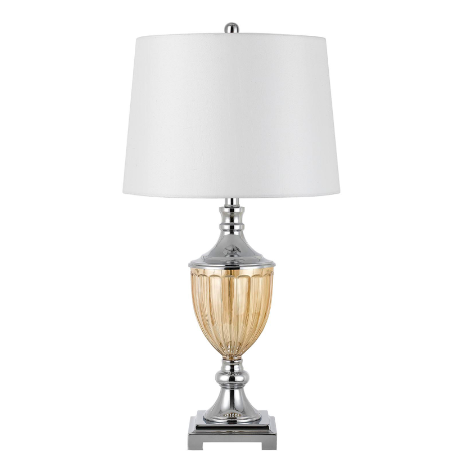 Derby Metal/Glass Table Lamp