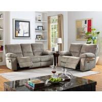 Walker - Dove - Reclining Living Room Group