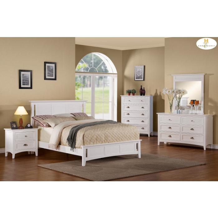 Robinson White Dresser