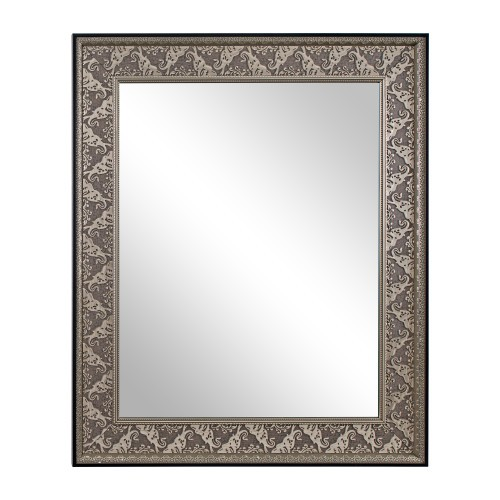 Textured Metallic Wall Mirror