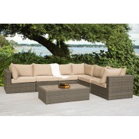 Ashville  Sectional Outdoor Seating