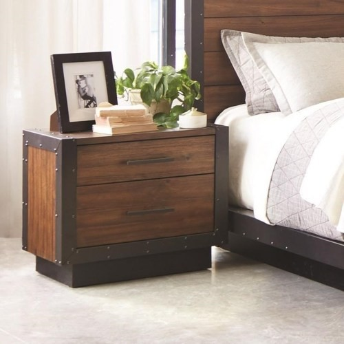 Ellison Industrial Collection - 4-Pc Bedroom Group ...