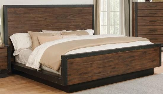 Ellison Industrial Collection - Bed | Complete Beds | Seat ...
