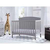 Archer 4-in-1 Crib - Grey