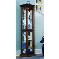 Nut Brown II Cabinet Curio