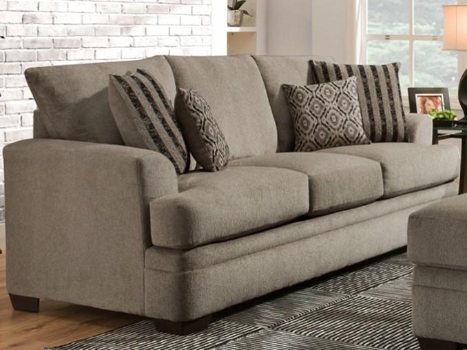 Cornelius Collection - Pewter Sofa