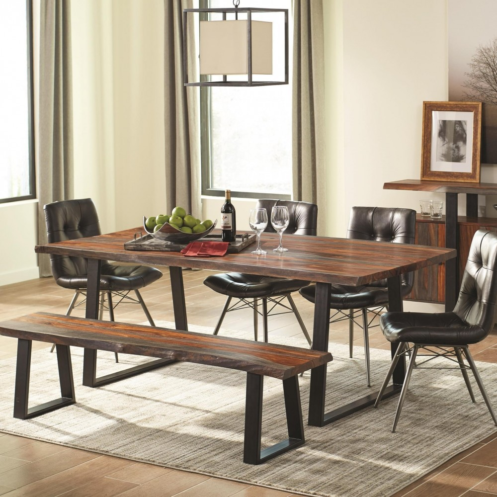 Living Room Dining Table: Scott Living Live Edge Collection - Dining Table