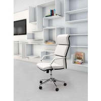 Lider Pro White Office Chair