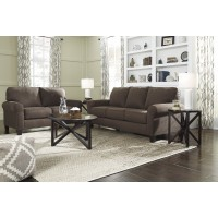 Aldy Walnut Living Room Group