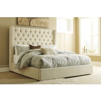Norrister King Upholstered Panel Bed