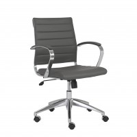 Axel Low Back Office Chair Gray