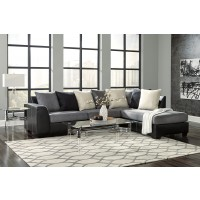 Jacurso - Charcoal Sectional