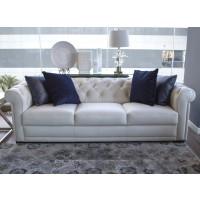 Carisma - White Leather Natuzzi Sofa