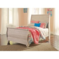 Willowton - Full Sleigh Bedframe