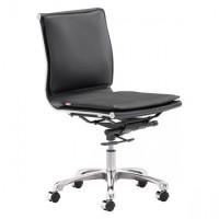 Lider Plus Armless Office Chair Black