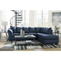 Darcy - Blue -  RAF Sectional